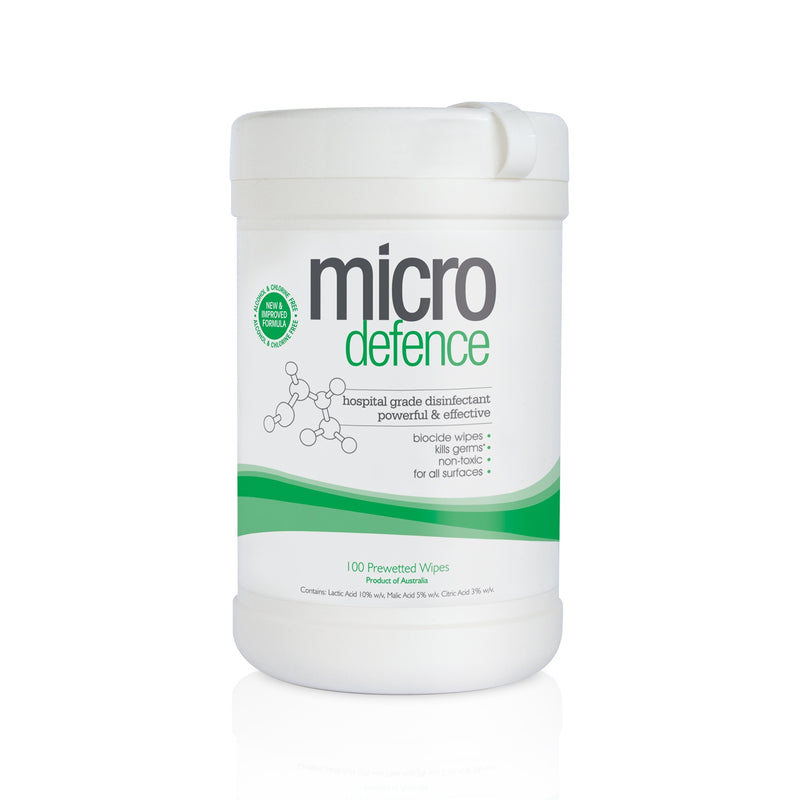 Caronlab Micro-defence Disinfectant Wipes