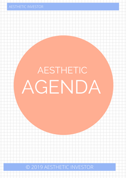 Aesthetic Agenda- Customised Skincare Routine. - Aesthetic Investor