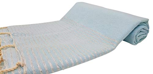 Premium Bath Beach Towel (L. Blue)