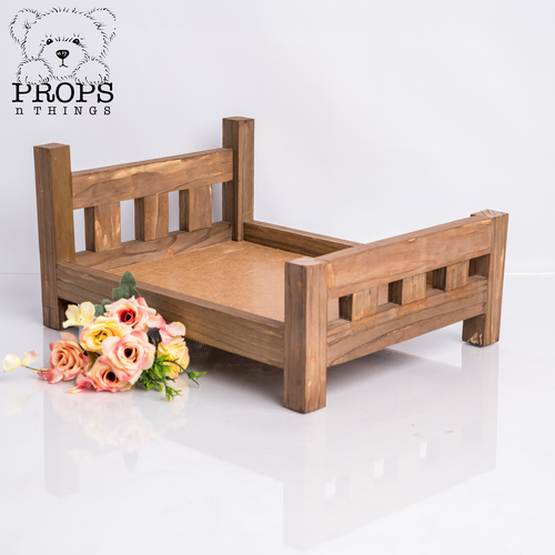 Hi-Lo Wooden Bed