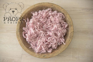 Curly Bowl Stuffers Baby Pink Layer