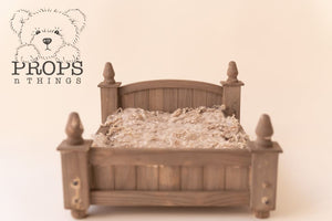 Dainty Wooden Bed