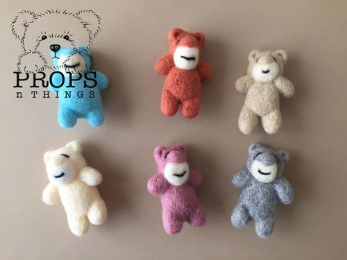 Felted Bears