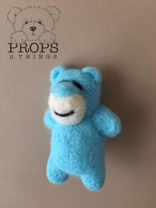 Felted Bears Baby Blue