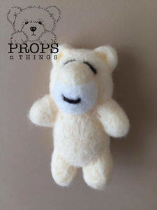 Felted Bears Cream