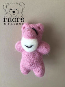 Felted Bears Dusty Pink