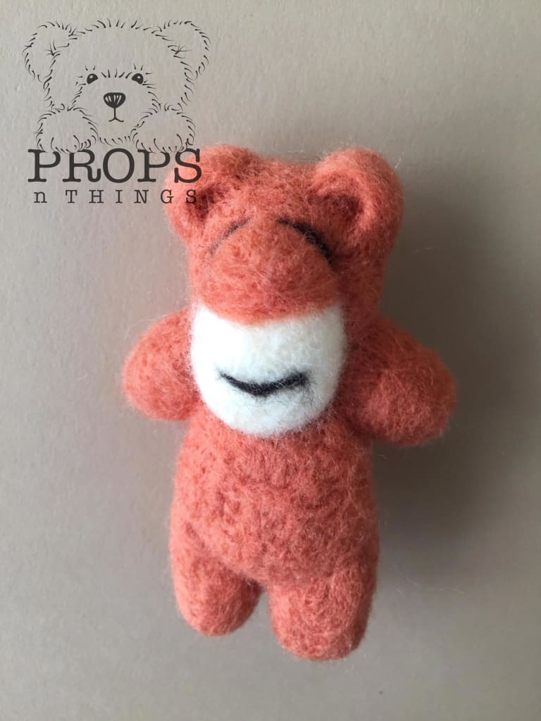 Felted Bears Rust
