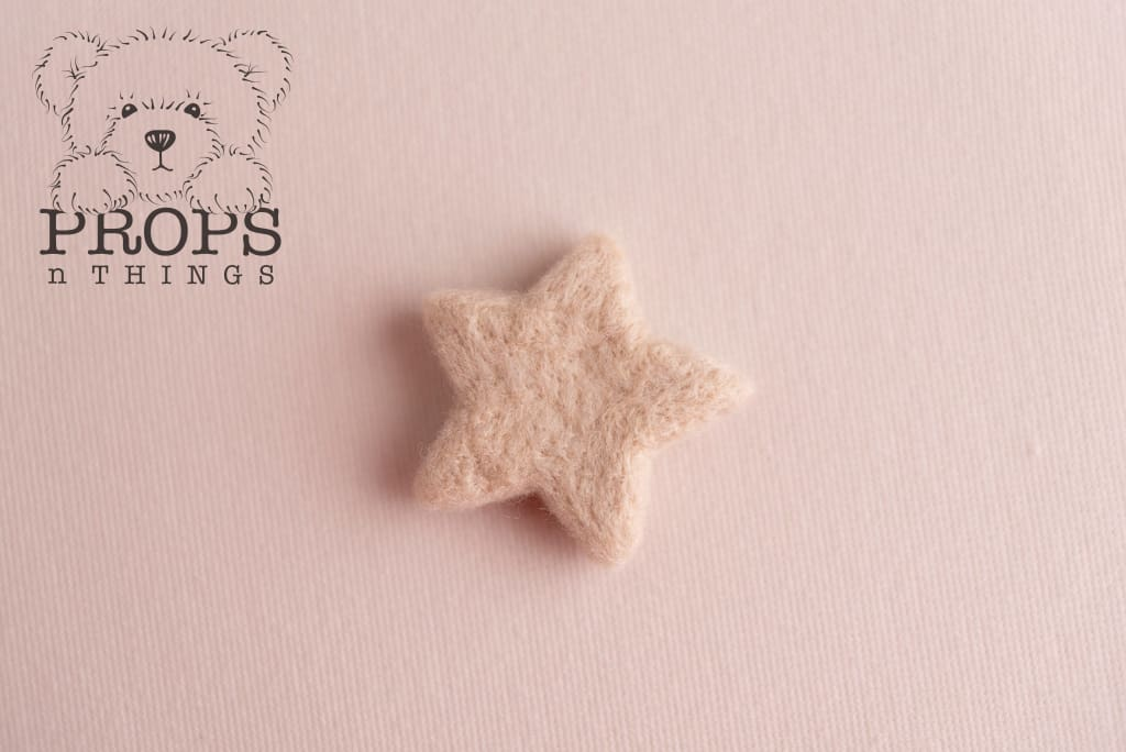 Felted Stars Neutral
