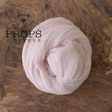 Load image into Gallery viewer, Hand-Dyed Cheesecloth Wraps Baby Pink