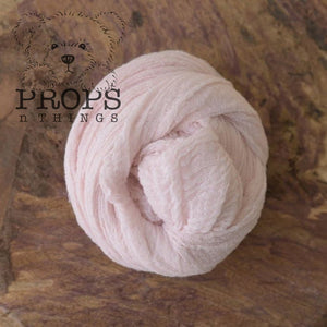 Hand-Dyed Cheesecloth Wraps Baby Pink