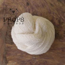 Load image into Gallery viewer, Hand-Dyed Cheesecloth Wraps Ivory