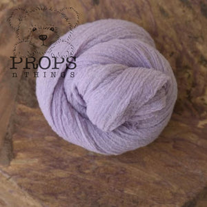 Hand-Dyed Cheesecloth Wraps Lilac
