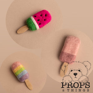 Felted Lollipops!