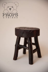 Tiny Little Stools Rustic