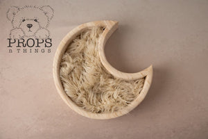 Wooden Moon Bowl