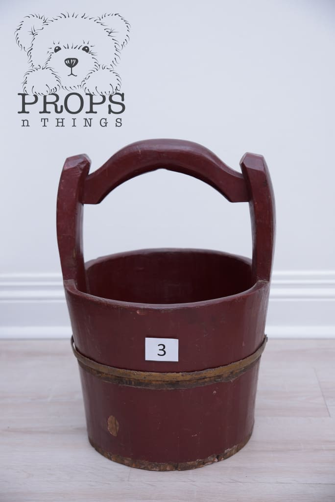 Wooden Water Buckets 3