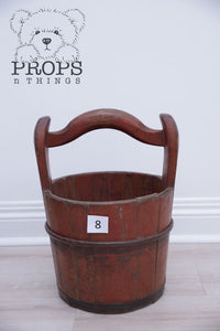 Wooden Water Buckets 8