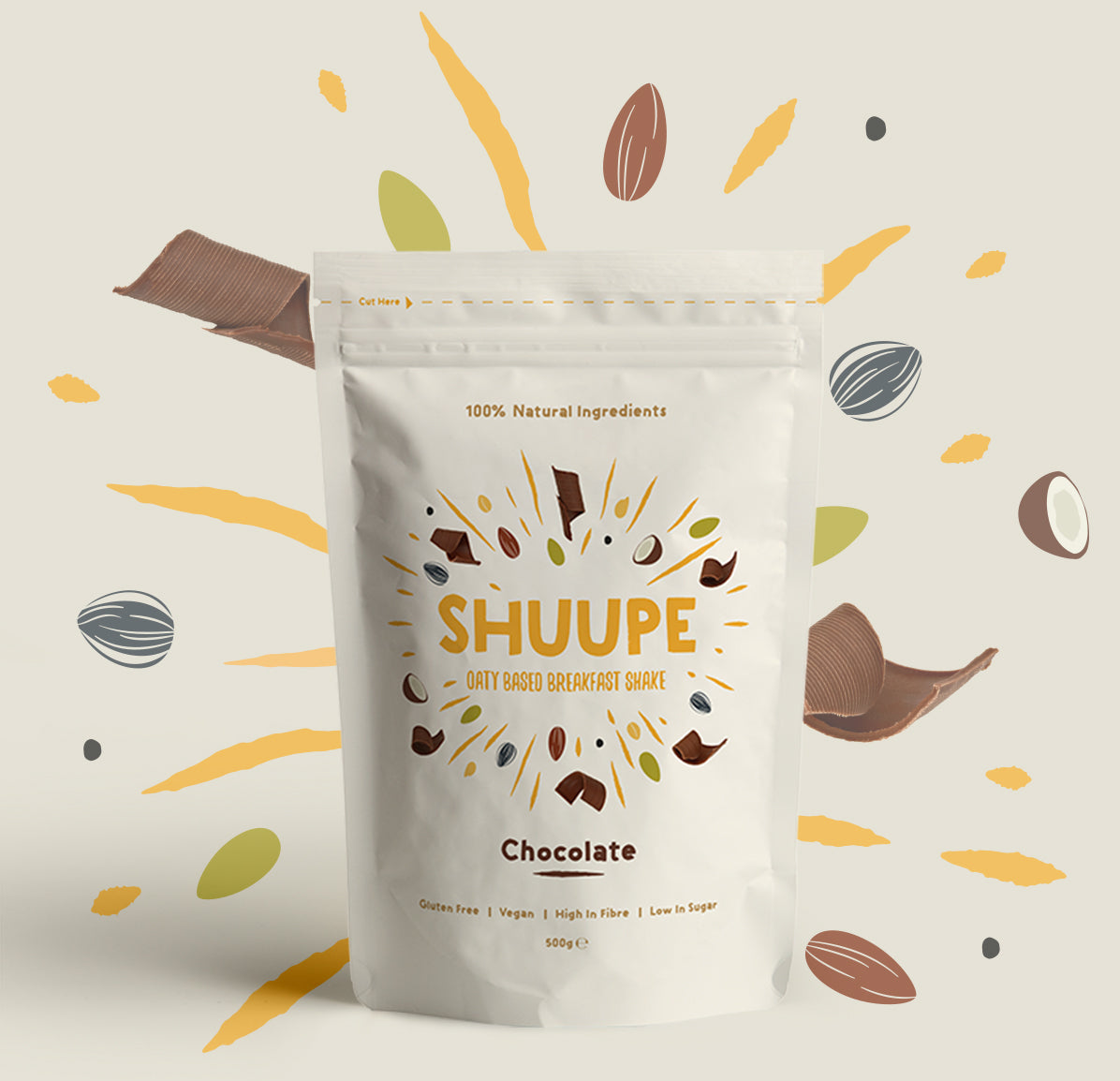 SHUUPE Chocolate 500g