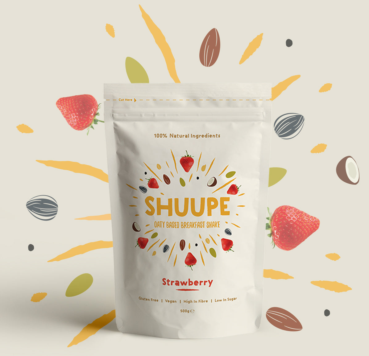SHUUPE Strawberry 500g