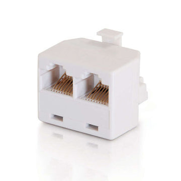CABLES TO GO 01938 RJ45 8-pin Modular T-Adapter