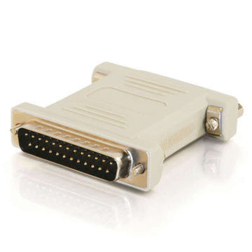 CABLES TO GO 02469 DB25 Male to DB25 Female Null Modem Adapter