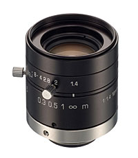 "TAMRON 23FM16SP Hi-Res Mono-Focal Lens for 1.3 Mega Pixel Cameras - 2/3"" 16mm F/1.4 w/Lock"