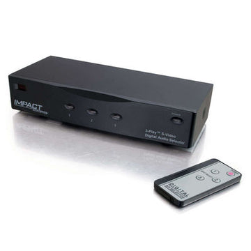 CABLES TO GO 28731 3-Play™ S-Video + Composite Video + TOSLINK® Digital Audio High Perform