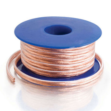 CABLES TO GO 40529 50ft 18 AWG Bulk Speaker Wire