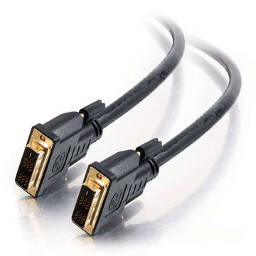 CABLES TO GO 41202 35ft Pro Series DVI-D™ Plenum M/M Single Link Digital Video Cable