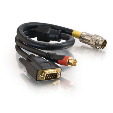 CABLES TO GO 42163 6ft RapidRun® DB9 + S-Video Flying Lead