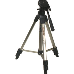 SUNPAK 620-020 Tripod with 3-Way Panhead and Quick-Release