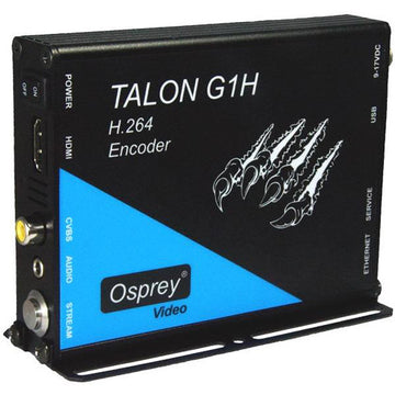 OSPREY 96-02011 Talon G1H H.264 Encoder w/ HDMI/CVBS Inputs and One-Touch Start