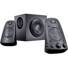LOGITECH 980-000402 200-Watt THX-Certified 2.1 Speaker System Z623