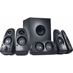 LOGITECH 980-000430 5.1 Surround Sound Speakers Z506
