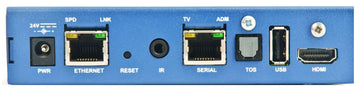 EXTERITY AVPLY-R9300 AvediaPlayer r9300 Receiver, w/HDMI Out, PoE (802.3af), ArtioPortal Client Lice