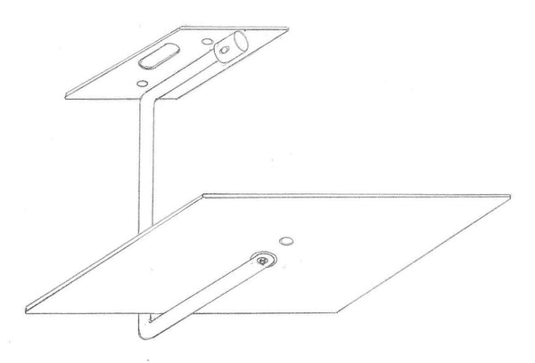 ICI CMDW-1300 Ceiling Mount for GOHD400 for Dry Wall, Wood, or Solid Surface Ceiling