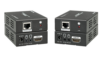 KANEXPRO EXT-HD100MHBT 4K HDBaseT 100-Meter HDMI® Extender w/ PoE Support