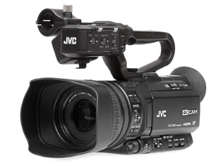 JVC GY-HM180U 4KCAM Compact Handheld Camcorder w/Integrated 12x Lens