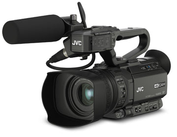 JVC GY-HM200HW House of Worship Streaming 4KCAM Compact Handheld Camcorder