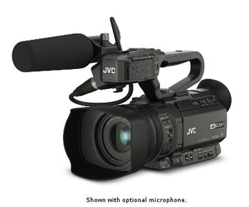 JVC GY-HM200U 4KCam Compact Handheld Camcorder w/Integrated 12x Lens