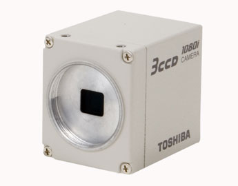 TOSHIBA IK-HD1H Camera Head ONLY for IK-HD1 HD 3CCD Color Camera System