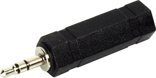 TECNEC MPS-SPF-S 3.5mm Stereo Mini Male to 1/4 Inch Stereo Female Adapter