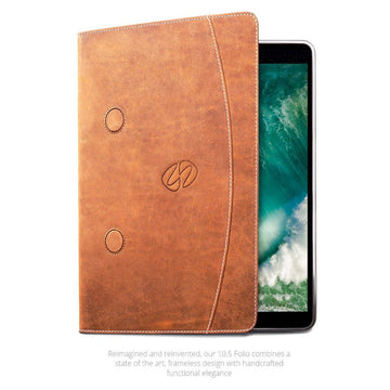 MAC-CASE LS10.5FL-VN Premium Leather iPad Pro 10.5 Case (Vintage)