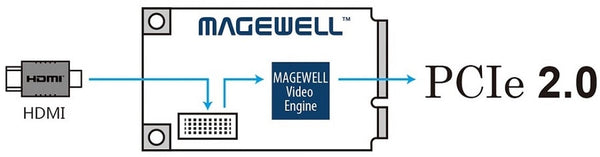 MAGEWELL 11110 Pro Capture Mini HDMI (PC-100-DME-HDMI)