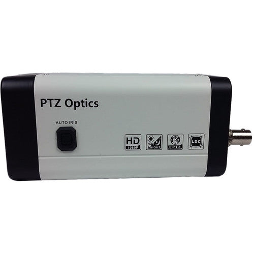PTZOPTICS PTVL-ZCAM Variable Lens 1080p HD-SDI, IP Network Box Camera (White)