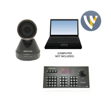Sports Live Stream System - 12x HD PTZ USB Camera and Wirecast