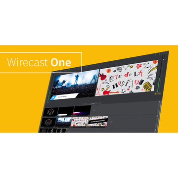 TELESTREAM WC-ONE-W Wirecast One - Windows