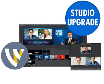 TELESTREAM WC-STU-W-UPG7-STU Wirecast Studio (Win) Version Upgrade from 4.x - 7.x to Current