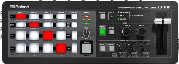 ROLAND XS-1HD 4 x 4 HDMI Multi-Format Matrix Switcher