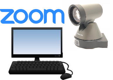Zoom Room Conferencing Kit with High Definition USB PTZ Camera and Speakerphone